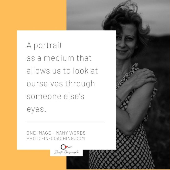 A portrait is a reflection of the self